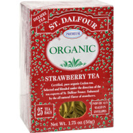 St Dalfour Organic Tea Strawberry - 25 Tea Bags
