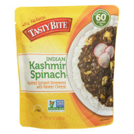 Tasty Bite Entrees - Indian Cuisine - Kashmir Spinach - 10 oz - case of 6