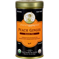 Zhena's Gypsy Tea P Ginger Black Tea - Case of 6 - 22 Bags