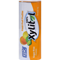 Epic Dental Mints - Fresh Fruit Xylitol Tin - 60 ct - Case of 10