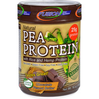 Fusion Diet Systems Pea Protein - Natural - Chocolate Peanut Butter - 16 oz