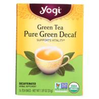 Yogi Tea Green Tea Pure Green - Decaf - 16 Tea Bags