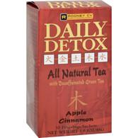 Wellements Rooney CV Daily Detox All Natural Decaffeinated Tea Apple Cinnamon - 30 Sachet