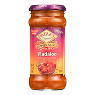 Pataks Simmer Sauce - Hot and Spicy - Vindaloo - Extra Hot - 12.3 oz - case of 6