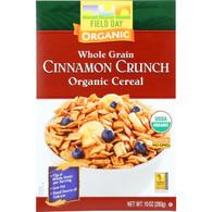 Field Day Cereal - Organic - Whole Grain - Cinnamon Crunch - 10 oz - case of 12