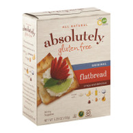 Absolutely Gluten Free Flatbread - Original - Case of 12 - 5.29 oz.