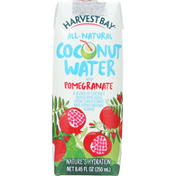 Harvest Bay Coconut Water - Pomegranate - 8.45 oz - case of 12
