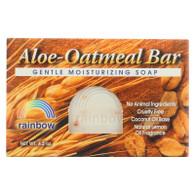Rainbow Research Bar Soap Aloe Oatmeal - 4 oz