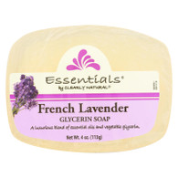 Clearly Natural Glycerin Bar Soap - French Lavender - 4 oz