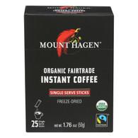 Mount Hagen Organic Instant Coffee - Coffee - Case of 8 - 1.76 oz.