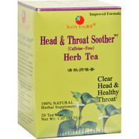 Health King Head and Throat Soother Herb Tea - 20 Tea Bags