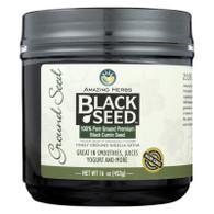 Amazing Herbs Black Seed Ground Seed - 16 oz