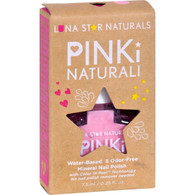 Lunastar Pinki Naturali Nail Polish - Sacramento (Baby Pink Shimmer) - .25 fl oz