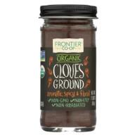 Frontier Herb Cloves - Organic - Ground - 1.90 oz