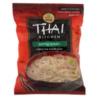 Thai Kitchen Instant Rice Noodle Soup - Spring Onione - Mild - 1.6 oz - Case of 6