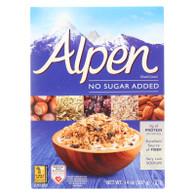 Alpen No Added Sugar Muesli Cereal - Case of 1 - 14 oz.