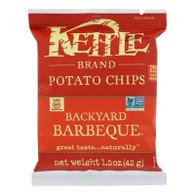 Kettle Brand Potato Chips - Backyard Barbeque - 1.5 oz - case of 24