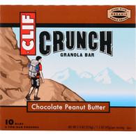 Clif Bar Granola Bar - Organic - Crunch - Chocolate Peanut Butter - 7.4 oz - case of 12