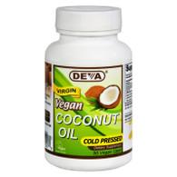 Devan Vegan Vitamins Coconut Oil - Vegan - 90 Vegan Capsules