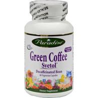 Paradise Herbs Green Coffee Svetol - 60 Vcaps