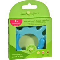 Green Sprouts Teether - Cornstarch - Hand - Aqua - 1 Count