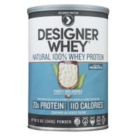 Designer Whey Natural Whey Protein - 12 oz