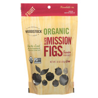 Woodstock Fruit - Organic - Figs - Mission - Black - 10 oz - case of 8