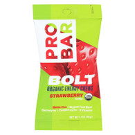 Probar Bolt Energy Chews - Organic Strawberry - 2.1 oz - Case of 12