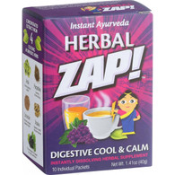 Herbal Zap Digestive Cool and Calm - 10 Packets