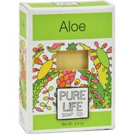 Pure Life Soap Aloe - 4.4 oz