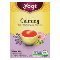 Yogi Tea Organic Calming - Caffeine Free - 16 Tea Bags