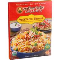 Mother India Organic Vegetable Biryani - 9.3 oz - Case of 6