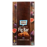 Nature's Bakery Stone Ground Whole Wheat Fig Bar - Original Fig - 2 oz - Case of 12