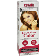 Love Your Color Hair Color - CoSaMo - Non Permanent - Lt Goldn Brown - 1 ct