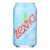 Zevia Soda - Zero Calorie - Cola - Caffeine Free - Can - 6/12 oz - case of 4