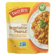 Tasty Bite Entree - Thai Cuisine - Thai Vegetable Peanut - 10 oz - case of 6