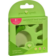 Green Sprouts Teether - Cornstarch - Hand - Green - 1 Count