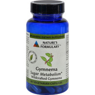 Nature's Formulary Gymnema - 60 Vegetarian Capsules