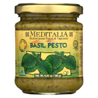 Meditalia Pesto - Basil - 6.35 oz - case of 6