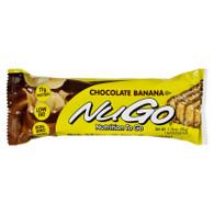 Nugo Nutrition Bar - Chocolate Banana - Case of 15 - 1.76 oz