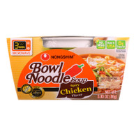 Nong Shim Soup - Bowl Noodle - Spicy Chicken Flavor - 3.03 oz - case of 12