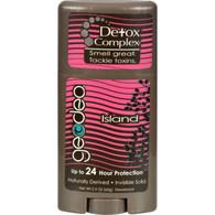 Geo-Deo Natural Deodorant Stick with Detox Complex Island - 2.3 oz