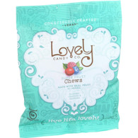Lovely Candy Superfruit Chews - Blueberry Cranberry and Raspberry - 2 oz - Case of 6