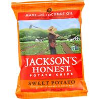 Jacksons Honest Chips Potato Chip - Sweet Potato - 1.2 oz - case of 36