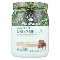 PlantFusion Plant Protein - Organic - Chocolate - 1 lb