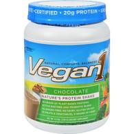 Nutrition53 Vegan1 Shake - Chocolate - Gluten Free - 1.5 lbs
