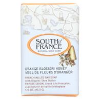 South of France Bar Soap - Orange Blossom Honey - Travel - 1.5 oz - Case of 12
