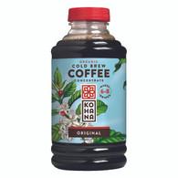 Kohana Organic Cold Brew Coffee Concentrate - Original - Case of 12 - 16 Fl oz.