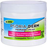 Dr. Zang Homeopathic Psoria-Derm Cream - 4 oz