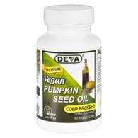 Devan Vegan Vitamins Pumpkin Seed Oil - Vegan - 90 Vegan Capsules